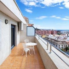 Отель Apartamentos Nuriasol Испания, Фуэнхирола - 7 отзывов об отеле, цены и фото номеров - забронировать отель Apartamentos Nuriasol онлайн балкон
