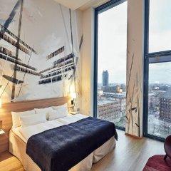 Отель Scandic Hamburg Emporio Германия, Гамбург - 5 отзывов об отеле, цены и фото номеров - забронировать отель Scandic Hamburg Emporio онлайн комната для гостей фото 5