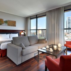 Hotel Vía Castellana комната для гостей