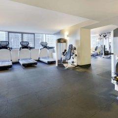 Отель Wyndham Grand Chicago Riverfront фитнесс-зал фото 2