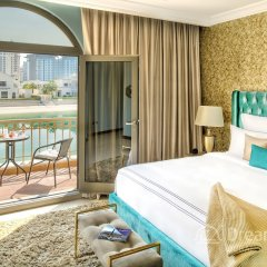 Отель Dream Inn Dubai-Luxury Palm Beach Villa комната для гостей
