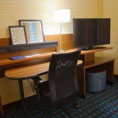 Отель Fairfield Inn & Suites by Marriott Columbus Airport США, Колумбус - отзывы, цены и фото номеров - забронировать отель Fairfield Inn & Suites by Marriott Columbus Airport онлайн удобства в номере