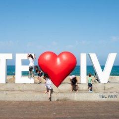 The Spot Hostel Тель-Авив пляж