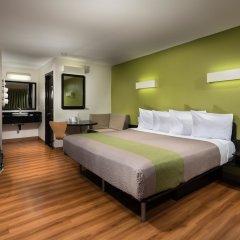 Отель Motel 6 Canoga Park США, Лос-Анджелес - отзывы, цены и фото номеров - забронировать отель Motel 6 Canoga Park онлайн комната для гостей фото 2