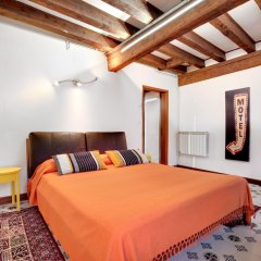 Апартаменты Venice Apartment overlooking Grand Canal комната для гостей фото 5