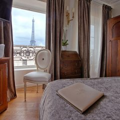 Отель Eiffel Trocadéro балкон