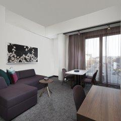 Отель Adina Apartment Hotel Nuremberg Германия, Нюрнберг - отзывы, цены и фото номеров - забронировать отель Adina Apartment Hotel Nuremberg онлайн комната для гостей фото 2