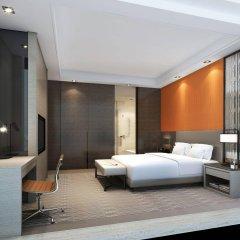 Отель Hyatt Place Shanghai Hongqiao CBD Китай, Шанхай - отзывы, цены и фото номеров - забронировать отель Hyatt Place Shanghai Hongqiao CBD онлайн комната для гостей фото 3
