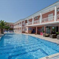 Отель Angelina Hotel & Apartments Греция, Корфу - отзывы, цены и фото номеров - забронировать отель Angelina Hotel & Apartments онлайн бассейн