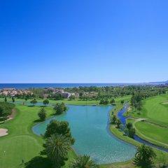 Отель Apartamentos Y Villas Oliva Nova Golf Олива приотельная территория фото 2