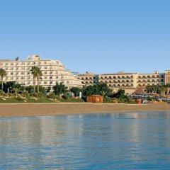 Отель Vrissiana Beach Hotel Кипр, Протарас - 1 отзыв об отеле, цены и фото номеров - забронировать отель Vrissiana Beach Hotel онлайн пляж