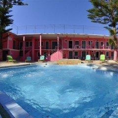 Отель The Pink Palace Корфу бассейн фото 2