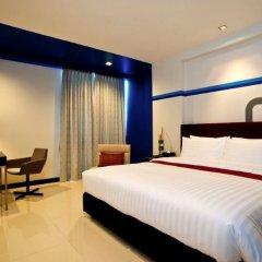FX Hotel Metrolink Makkasan комната для гостей