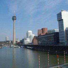 Апартаменты Business meets Düsseldorf Apartments Дюссельдорф приотельная территория фото 2