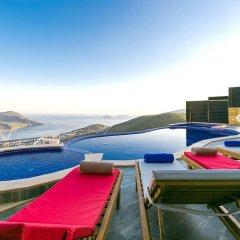 Villa Zirve Турция, Патара - отзывы, цены и фото номеров - забронировать отель Villa Zirve онлайн бассейн