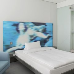 Отель Innside By Melia Parkstadt Schwabing Мюнхен комната для гостей