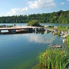 Отель U jezera Чехия, Пльзень - отзывы, цены и фото номеров - забронировать отель U jezera онлайн приотельная территория