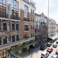 Гостиница Modern Properties Lviv Украина, Львов - отзывы, цены и фото номеров - забронировать гостиницу Modern Properties Lviv онлайн балкон