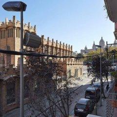 Отель Magic Fountain Apartments Испания, Барселона - отзывы, цены и фото номеров - забронировать отель Magic Fountain Apartments онлайн балкон