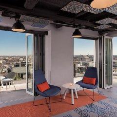 Отель Aloft Madrid Gran Via балкон