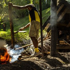 Отель Crusoe's Retreat Фиджи, Вити-Леву - отзывы, цены и фото номеров - забронировать отель Crusoe's Retreat онлайн приотельная территория
