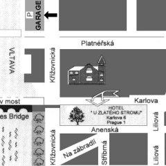 Отель U Zlateho Stromu Прага с домашними животными
