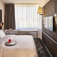 Отель Mama Shelter Prague Чехия, Прага - 10 отзывов об отеле, цены и фото номеров - забронировать отель Mama Shelter Prague онлайн комната для гостей фото 5