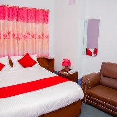 Отель OYO 202 Hotel Kanchenjunga Непал, Катманду - отзывы, цены и фото номеров - забронировать отель OYO 202 Hotel Kanchenjunga онлайн комната для гостей фото 3