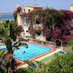 Апартаменты Iliostasi Beach Apartments бассейн фото 2