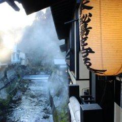 Отель Kurokawa Onsen Yama No Yado Shinmeikan Минамиогуни фитнесс-зал