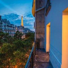 Hotel La Bourdonnais балкон
