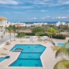 Отель Palm Village Villas Кипр, Протарас - отзывы, цены и фото номеров - забронировать отель Palm Village Villas онлайн бассейн фото 3