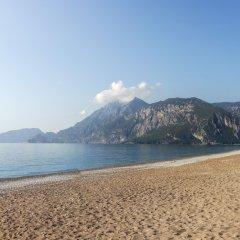 Отель Cirali Flora Pension пляж фото 2
