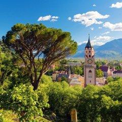 Отель Residence Flora Италия, Меран - отзывы, цены и фото номеров - забронировать отель Residence Flora онлайн приотельная территория