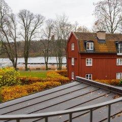 Отель Villa Kallhagen Стокгольм балкон