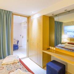 Отель Eden Roc Resort Hotel Греция, Родос - отзывы, цены и фото номеров - забронировать отель Eden Roc Resort Hotel онлайн комната для гостей фото 5