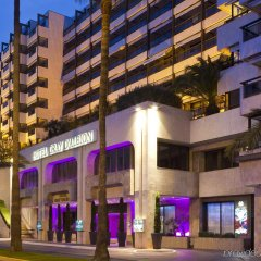 Hotel Barriere Le Gray d'Albion Канны вид на фасад