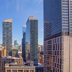 Отель Hilton Garden Inn New York/Manhattan-Chelsea балкон