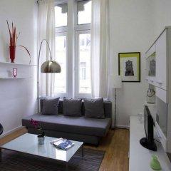 Апартаменты Brussels City Centre Apartments комната для гостей фото 3