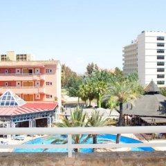 Отель Aparthotel Cabau Aquasol Испания, Пальманова - 1 отзыв об отеле, цены и фото номеров - забронировать отель Aparthotel Cabau Aquasol онлайн приотельная территория