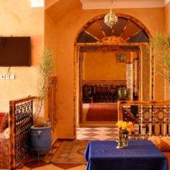 Отель Auberge Chez Ali Марокко, Загора - отзывы, цены и фото номеров - забронировать отель Auberge Chez Ali онлайн интерьер отеля