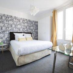 Отель Hôtel Des Batignolles Франция, Париж - 10 отзывов об отеле, цены и фото номеров - забронировать отель Hôtel Des Batignolles онлайн комната для гостей фото 4