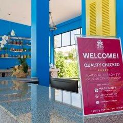 Отель ZEN Rooms Takua Thung Road Пхукет интерьер отеля фото 3