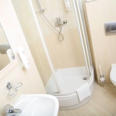 Отель Lezno Palace Польша, Эльганово - 4 отзыва об отеле, цены и фото номеров - забронировать отель Lezno Palace онлайн ванная фото 2