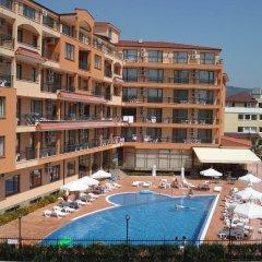 Отель Happy Sunny Beach Болгария, Солнечный берег - отзывы, цены и фото номеров - забронировать отель Happy Sunny Beach онлайн бассейн фото 3