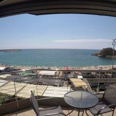 Отель Aiguaneu Sa Palomera Испания, Бланес - отзывы, цены и фото номеров - забронировать отель Aiguaneu Sa Palomera онлайн пляж фото 2