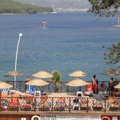 Golmar Beach Турция, Мармарис - отзывы, цены и фото номеров - забронировать отель Golmar Beach онлайн пляж фото 2