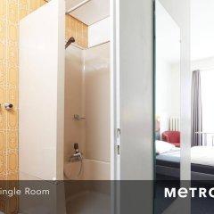 Отель Metropole Easy City Hotel Швейцария, Берн - 3 отзыва об отеле, цены и фото номеров - забронировать отель Metropole Easy City Hotel онлайн ванная фото 2
