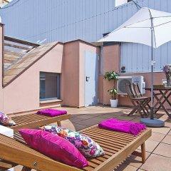 Отель Msb Gracia Pool Terrace Center Барселона бассейн