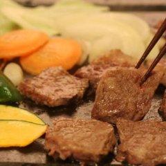 Отель Syukubo Aso Минамиогуни питание фото 3